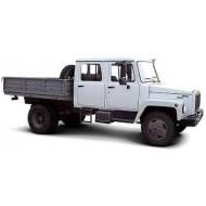 Бортовой автомобиль ГАЗ-3309 ЕГЕРЬ 2 с двухрядной кабиной