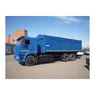 Автомобиль-зерновоз 68903G  на шасси КАМАЗ-65117-3010-78  + прицеп-зерновоз 85300G